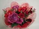 大人の赤い花束