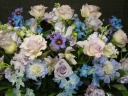 淡いパープル系のお花で おしゃれ~~!