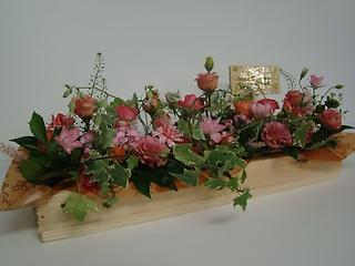 季節のお花たちつくる、「花子の花園」アレンジ