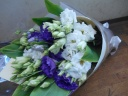 トルコギキョウのシンプル花束
