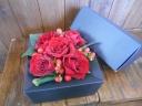 赤バラのBOXフラワー