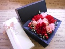 BOXフラワー≪red&pink≫焼き菓子セット
