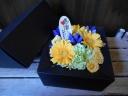 敬老の日BOXアレンジ《青りんどう》
