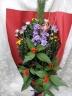和風お正月飾り花束:蝶舞