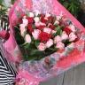 フェアリーローズピンクレッド花束