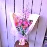 桜とチューリップのブーケピンクL