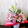桜とチューリップ卒業・入学祝いL