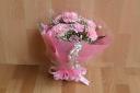 母の日花束 ピンク