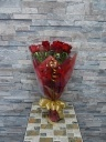 生花☆赤バラの花束001