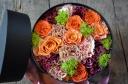 round box flower