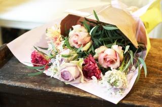「お疲れさまです!」の花束