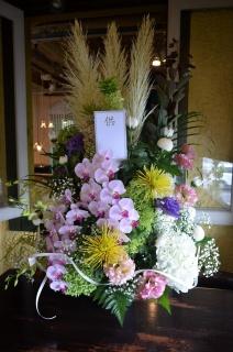 哀悼のお花