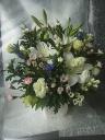 菊・洋花入り。供花