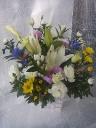 ぱっと鮮やかな供花