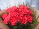 花束といえばこれ!!「赤バラ」の花束