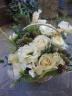 白バラのアレンジメント