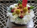 食べられません!お花のケーキです!!