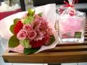 ブーケと花器のセット♪