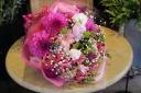 お誕生日や記念日に~おまかせ花束 『ピンク系』