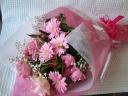 ガーベラ&バラ花束