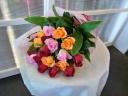 バラ3種の花束