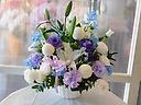 御供アレンジメント(ブルー&紫)