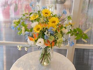 季節の花束 ミックスカラー(花瓶は付きません)