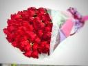 スーパーフリーダム100本の薔薇の花束