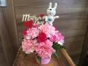 *母の日*カラフルうさちゃん~ピンク~