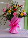 カラフルな色の花束