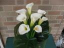 カラーの花束:花びらメッセージI Love You
