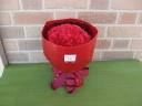 母の日のプレゼントの定番 赤いカーネーションの花束