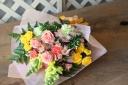 優しさ伝わるふんわり花束