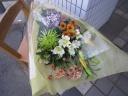 お供え用花束①
