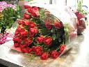 真紅のバラを・・・
