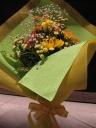 元気が出る!ビタミンカラーの花束