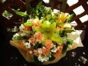 黄色・オレンジのお花で、お母さんありがとう!