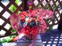ピンクカーネーション鉢とムーンダスト花束のセット