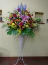 お祝いスタンド花 カラフル系