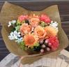 ナチュラルオレンジ の花束