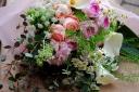 野の花屋 ふんわりピンクブーケ