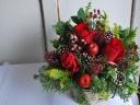 「クリスマス」 赤いアレンジメント
