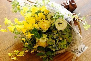 野の花屋 スタイリッシュブーケ