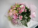 花束 淡いピンク系~やさしさに感謝~