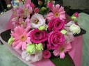 ピンク系花束