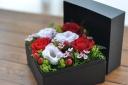 BOX FLOWER  赤系 Sサイズ