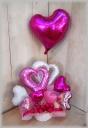 浮かぶバルーン付◆PinkPink Hearts◆