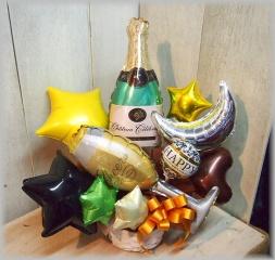 バルーンアレンジ◆楽しい夜に乾杯!◆