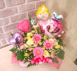 バルーン入りアレンジ◆妖精の舞◆