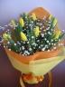 チューリップの花束 <イエロー>